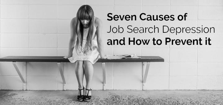 decelerate your job search depression